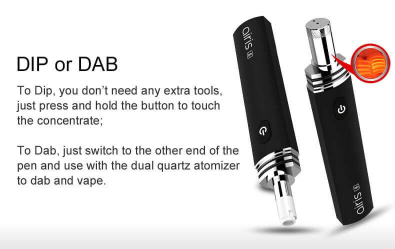 Airis 8 - Airistech-Advanced, Portable & Affordable Herb/ Wax/Oil